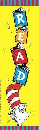 Dr. Seuss Bookmark - Dr. Seuss Photo (910774) - Fanpop