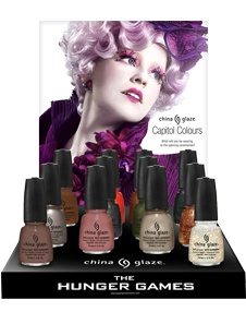 I'm gonna have to get some of these! Definitely the Fast Track & Agro, maaaaybe Harvest Moon & Stone Cold. Already have polishes similar to Electrify & Riveting.The Hunger Games, Nail Polish, China Glaze, Nailpolish, Hungergames, Nails Polish, Chinaglaze, Glaze Hunger, Hunger Games Nails