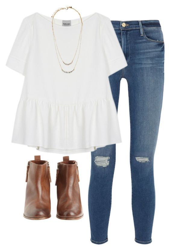 45 Lovely Preppy Casual Summer Outfits For School #school #oufits #summer #preppy #spring