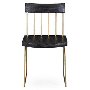 Wattripont Solid Wood Dining Chair (Set of 2)