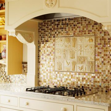 Inspiration for kitchen backsplash: Classy Kitchens, Craver Kitchen Inspiration, Mosaic Tile, Backsplash Ideas, Tile Ideas, Kitchen Ideas, Tile Projects, Attention Craver