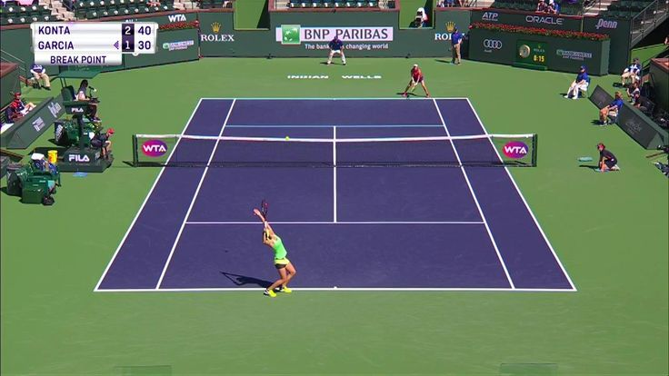 Johanna Konta v Caroline Garcia is LIVE from the BNP Paribas Open on Tennis Channel Plus!  WATCH: http://www.tennischanneleverywhere.com/channel/tennis-channel-plus