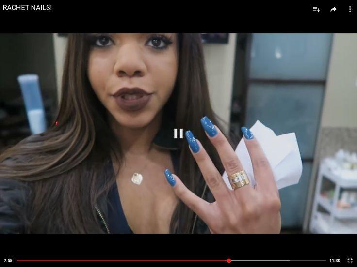Blue nails ˇˇˇ