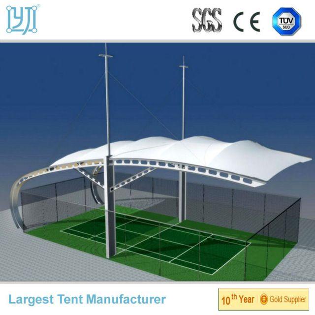 Cubierta de estructura pvdf para pista de tenis, estructura de la membrana de acero para el estadio-en Membranas de arquitectura de Material de Construcción Plástico en m.spanish.alibaba.com.