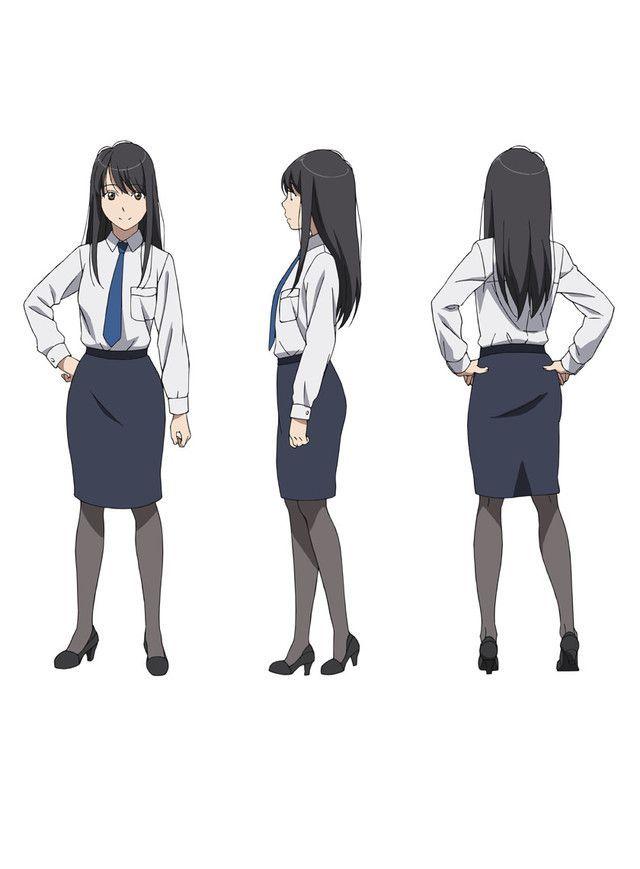 Inaho Kaizuka Model Sheets