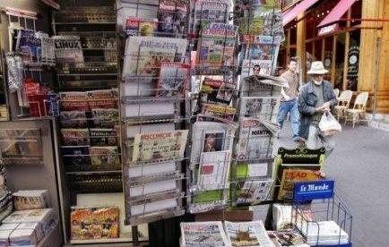 La distribution des journaux nationaux perturbée à travers la France