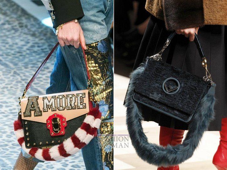 Модные сумки осень-зима 2017-2018 фото №3