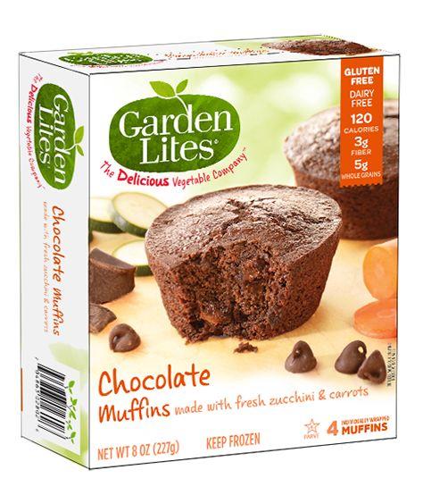 Garden Lites, Chocolate Muffins.