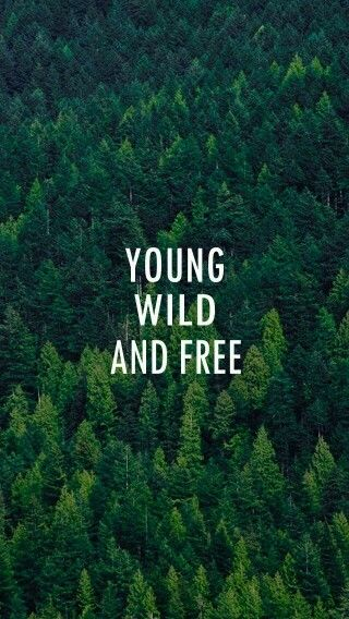 Young Wild And Free Quotes Tumblr: Young Wild And Free Wallpaper-Cute.