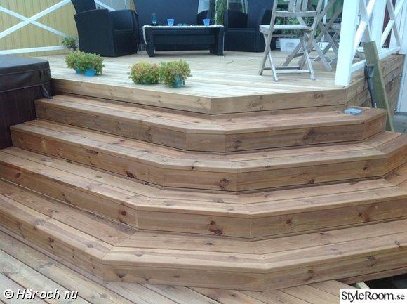 trappa,trappa efter,trädäck,altan,hörntrappa  Idéer för hemmet ...