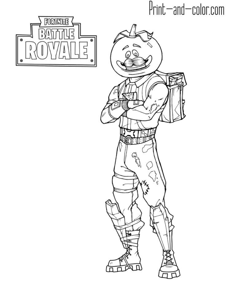Fortnite Knight Black Print Drawing