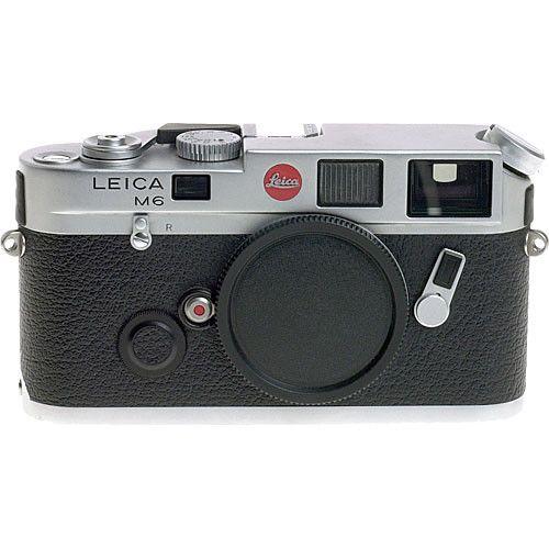 Leica M6 35mm Rangefinder Manual Focus Camera Body (Silver)