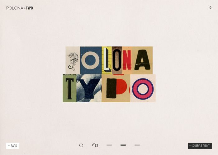 Type, share and print your own sentences using thousands of letters from the…
