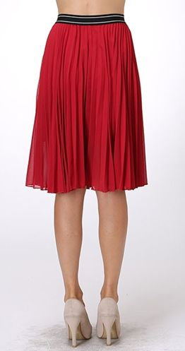 Pleat and Thank You Skirt $39.99