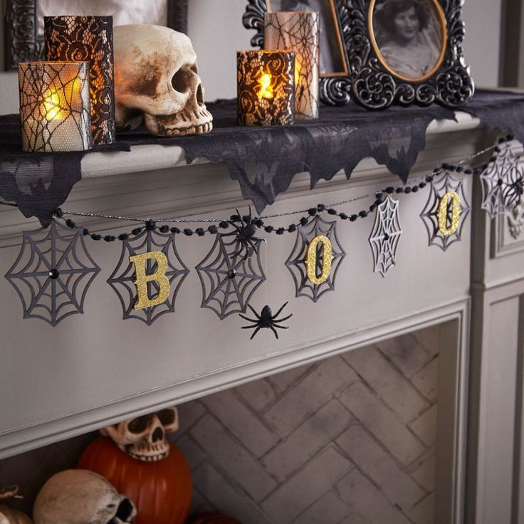 Happy Halloween Tips On Home Decoration 1: 17 Best Ideas About Spooky Decor On Pinterest
