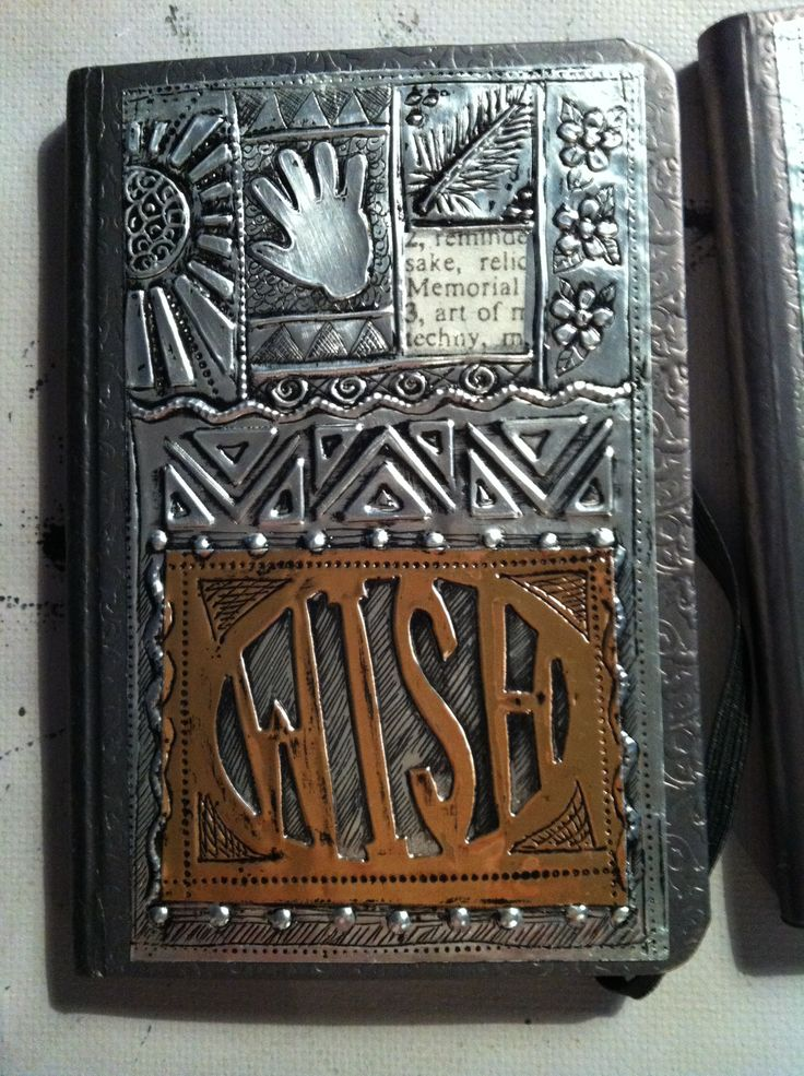 Embossing Fabric Book Cover : Best images about metal embossing on pinterest