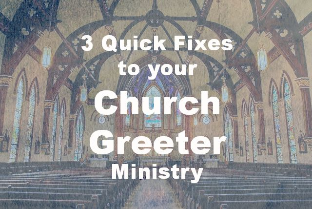 Can your Church Greeter Ministries can use a quick tune up? Here are three steps to improve greeter ministry. Fixes to your greeter ministry are here.