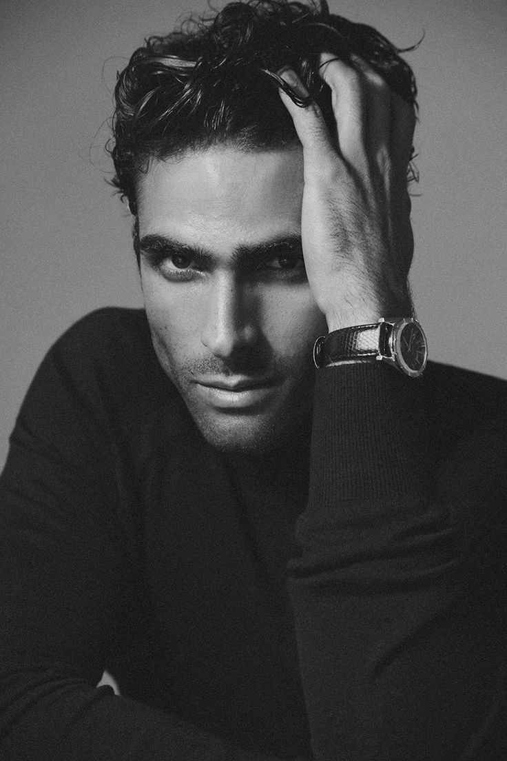 Schön! Juan Betancourt Dresses Up for Franck Glenisson Shoot