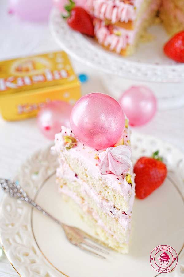Strawberry cream cake - torcik truskawkowy