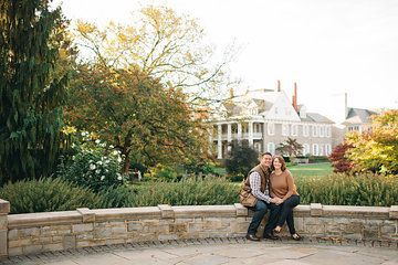 Penn State Engagement Session Photo from Jenna + Ian | Engaged collection by Amanda Adams Photography