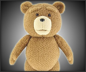 Like to see the movie, want to have the teddy!