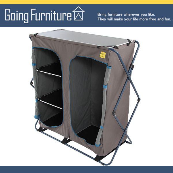 【楽天市場】折りたたみクローゼット 収納ケース ボックス 収納 軽量 コンパクト パイプ 激安 通販 アウトドア Going Furniture…