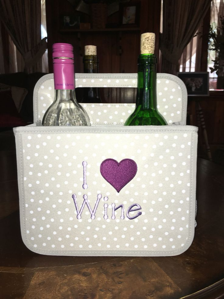Thirty-One cute BYOB double duty caddy! I love wine.