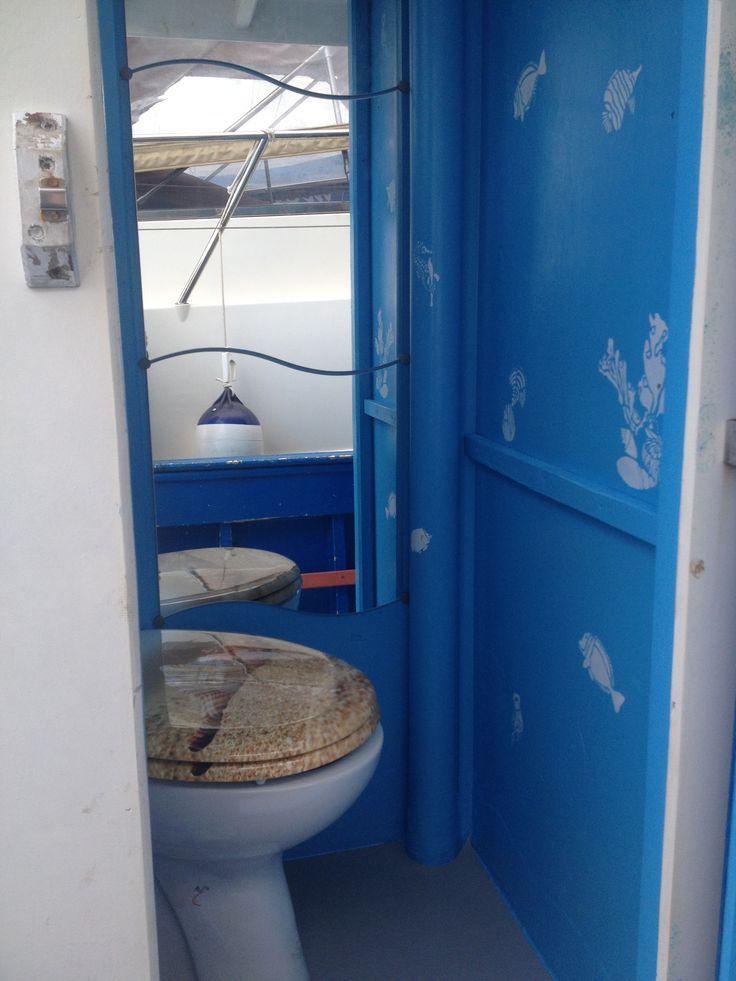 Toilet on board