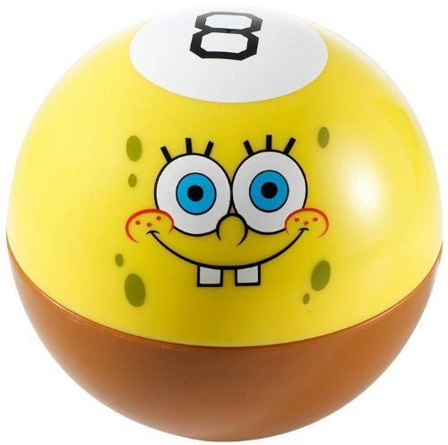 SpongeBob SquarePants Magic 8 Ball by SpongeBob SquarePants @ niftywarehouse.com #NiftyWarehouse #Spongebob #SpongebobSquarepants #Cartoon #TV #Show
