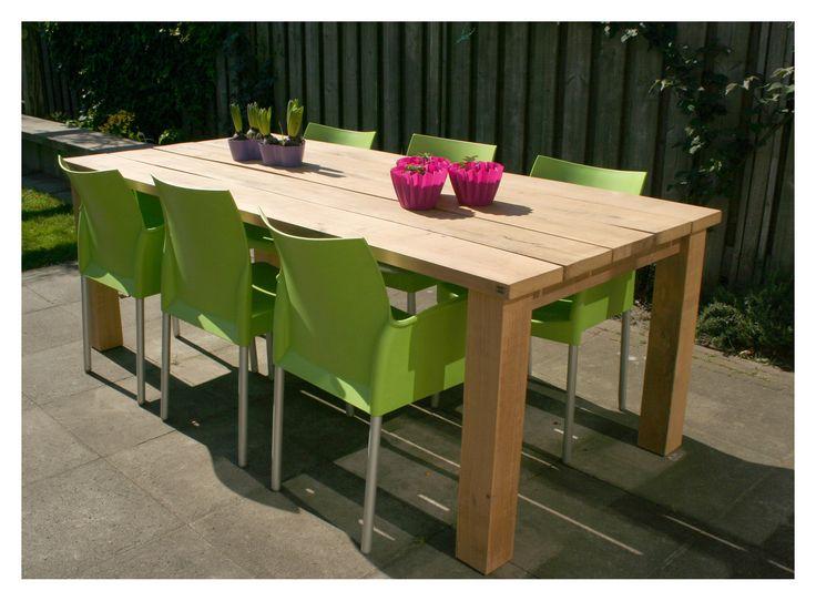 22 best images about meubels voor buiten op pinterest deuren terrazzo en met - Massief idee van tuin ...