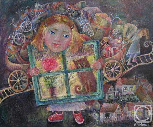 """#Дарья_Кулик """"Переезд"""" Александра Ильина.  Прежде  """"Когда я была маленькая, Я была много богаче: У меня на завалинке Были кошка, корзинка и мячик. У меня был медведь из дерева, Глаза у него янтарные."""""""