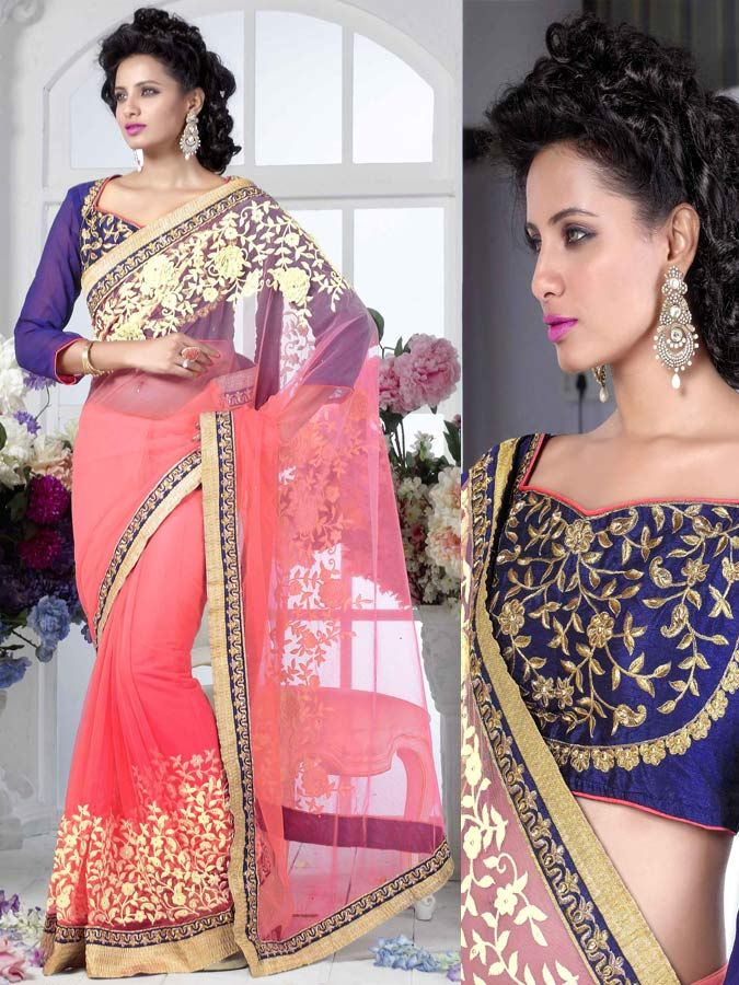 Saree is the traditional outfits of Indian woman which has already been in fashion since centuries . However , these days there are countless alternatives in design , materials , artwork , and also shade in the traditional Indian saree .