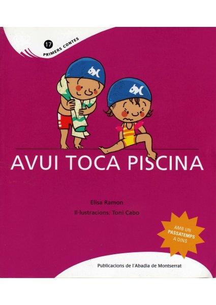 """""""Avui toca piscina"""" cuento con pictogramas Arasaac , by Pili Fernández, via Slideshare"""