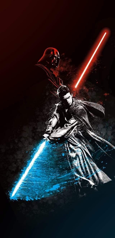 Anakin Skywalker Become Darth Vader Star Wars Background Star Wars Painting Star Wars Anakin