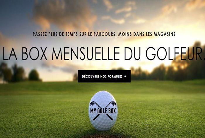 Découvrez la Box pour les golfeurs : MY BOX GOLF. Une excellente idée de cadeau pour un golfeur ;) (Cliquez sur le lien pour en savoir +) #golf #cadeau #bonsplansgolf