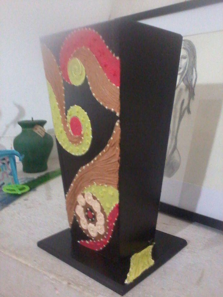 Florero Jarrón con textura