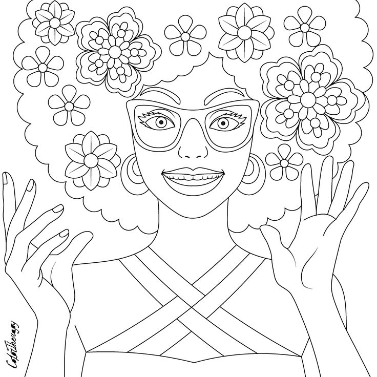 free coloring pages for therapy - photo#36