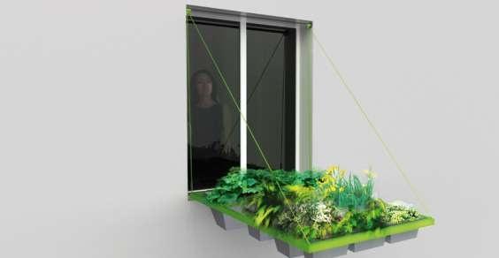 Volet végétal: ecco come realizzare un orto urbano anche senza il balcone