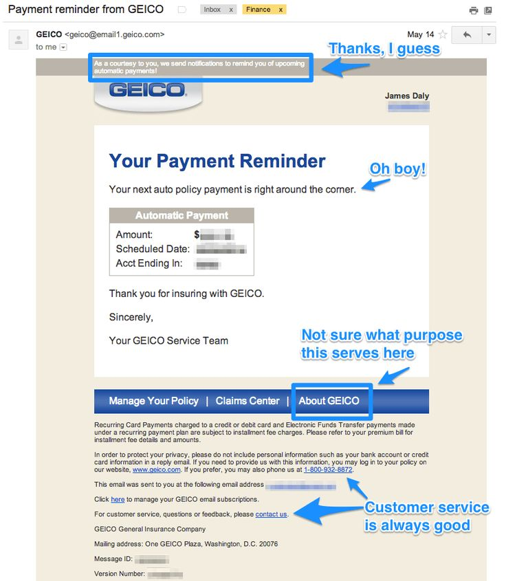 geico insurance email  | Interest In EyeMail?