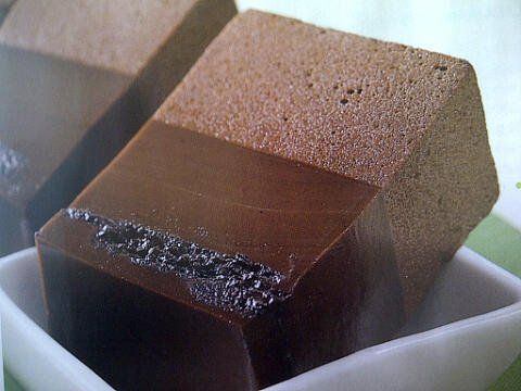Puding coklat oreo