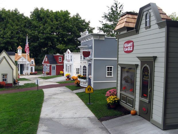 Yes, Lilliput Play Homes can make you a main streets, when a wendy house doesn't satisfy