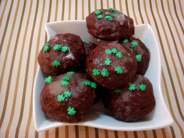 Quem liga para o St. Patrick's Day   Cookies de chocolate e menta