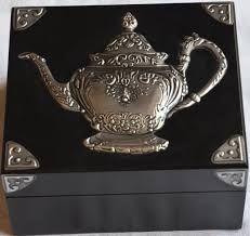 Bildergebnis für pewter tea box