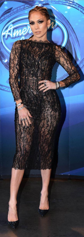 Jennifer Lopez Dress Thai Nguyen Shoes Christian