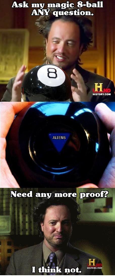 * Magic 8-ball *