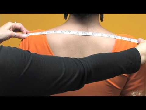 Before another visit to the tailor ▶ How to measure a Blouse / Choli - YouTube . For best fit custom made cholie.