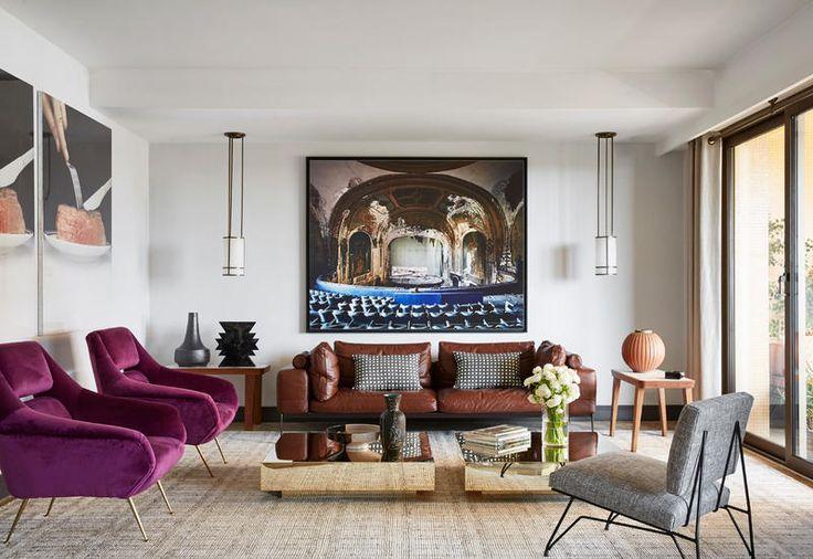A Monaco Humbert & Poyet arredano un super appartamento vista mare con pezzi storici francesi e vintage italiano