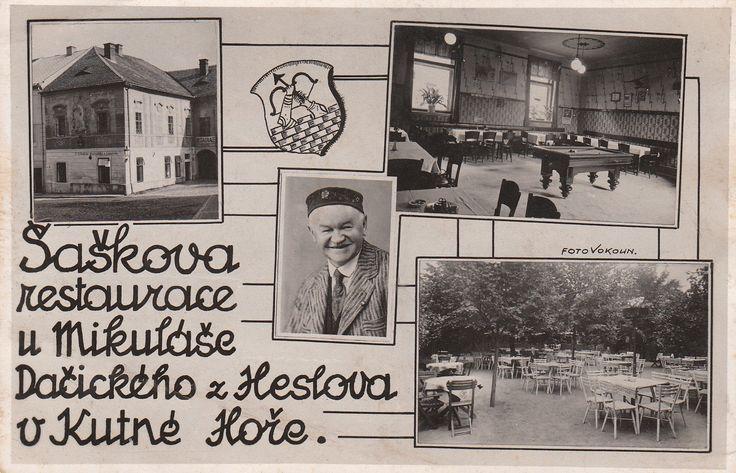 FB Dačického dům: Podívejte jaký krásný poklad jsme dnes obdrželi! Ozval se nám pravnuk pana Františka Šaška, který měl v Dačického domě restauraci. Velice děkujeme!!!