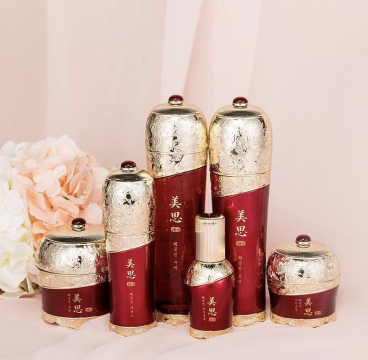 Missha's oriental herb Skincare line - incorporating Korean traditional medicine techniques
