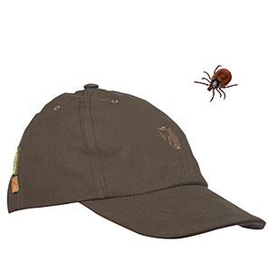 Rovince Shield cap made from the Patented ZECK-Protek treatment which is effective against Ticks, Midges, Mosquitos and many other biting insects.